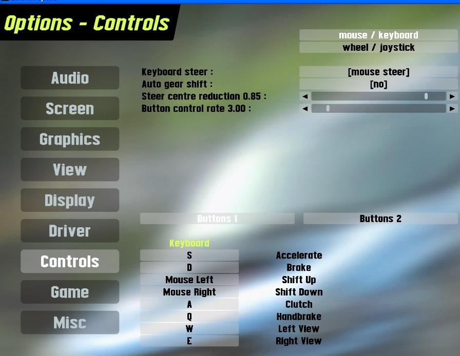 LFS Forum - mouse steer settings